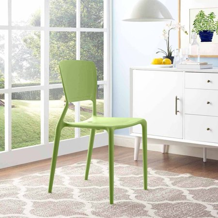 Modway Fine Dining Side Chair Fully Stackable, Multiple Colors