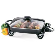 Presto 16-inch Electric Skillet with glass cover 06852