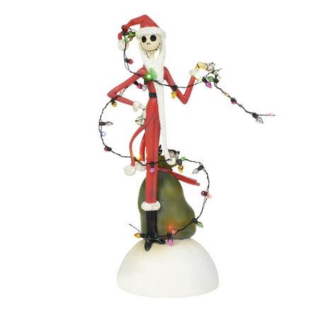 fbd872f6b05 Disney Nightmare Before Christmas 6000411 Jack Tangled In Lights 2018 -  Walmart.com