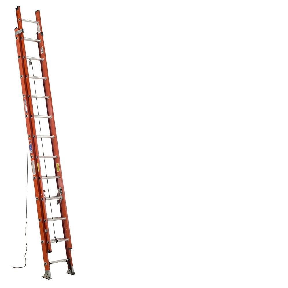 Werner D6224-2 24 ft. Type IA Fiberglass D-Rung Extension Ladder by Werner
