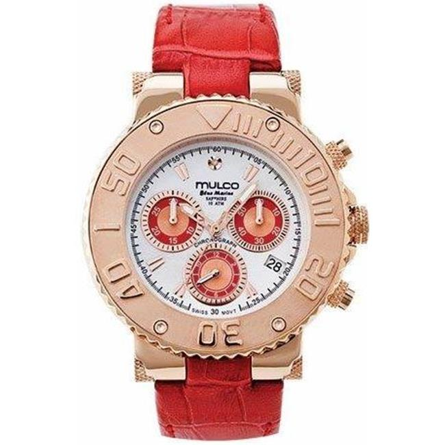 MW3-70602-163 Mulco Bluemarine Leather Chronograph Ladies Watch