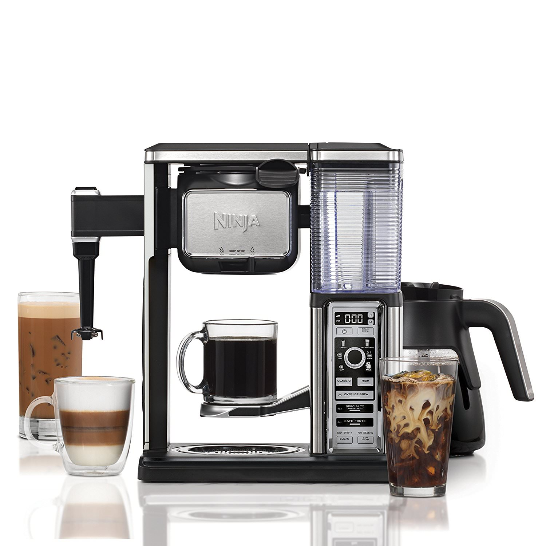 Ninja Coffee Bar Brewer System with Glass Carafe CF092 (Certified Refurbished)