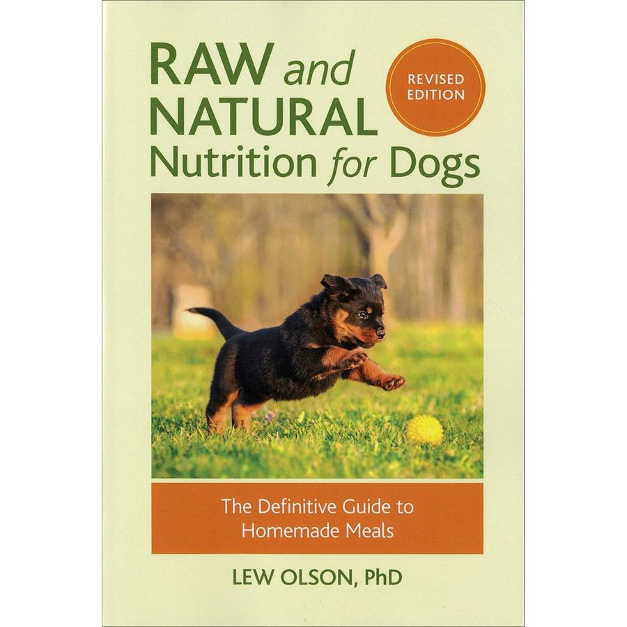 Random House Books Raw & Natural Nutrition For Dogs