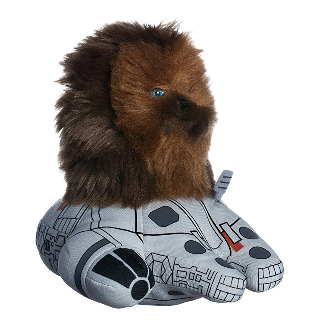 Comic Images Plush Racers Star Wars Chewbacca/Millenium Falcon