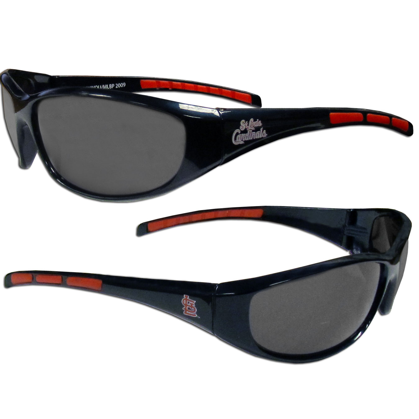 St. Louis Cardinals Official MLB Wrap Sunglasses by Siskiyou 030413