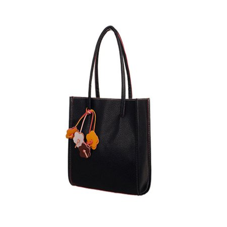 Fashion girls handbags leather shoulder bag candy color flowers totes BK](Candy Bags Purses)