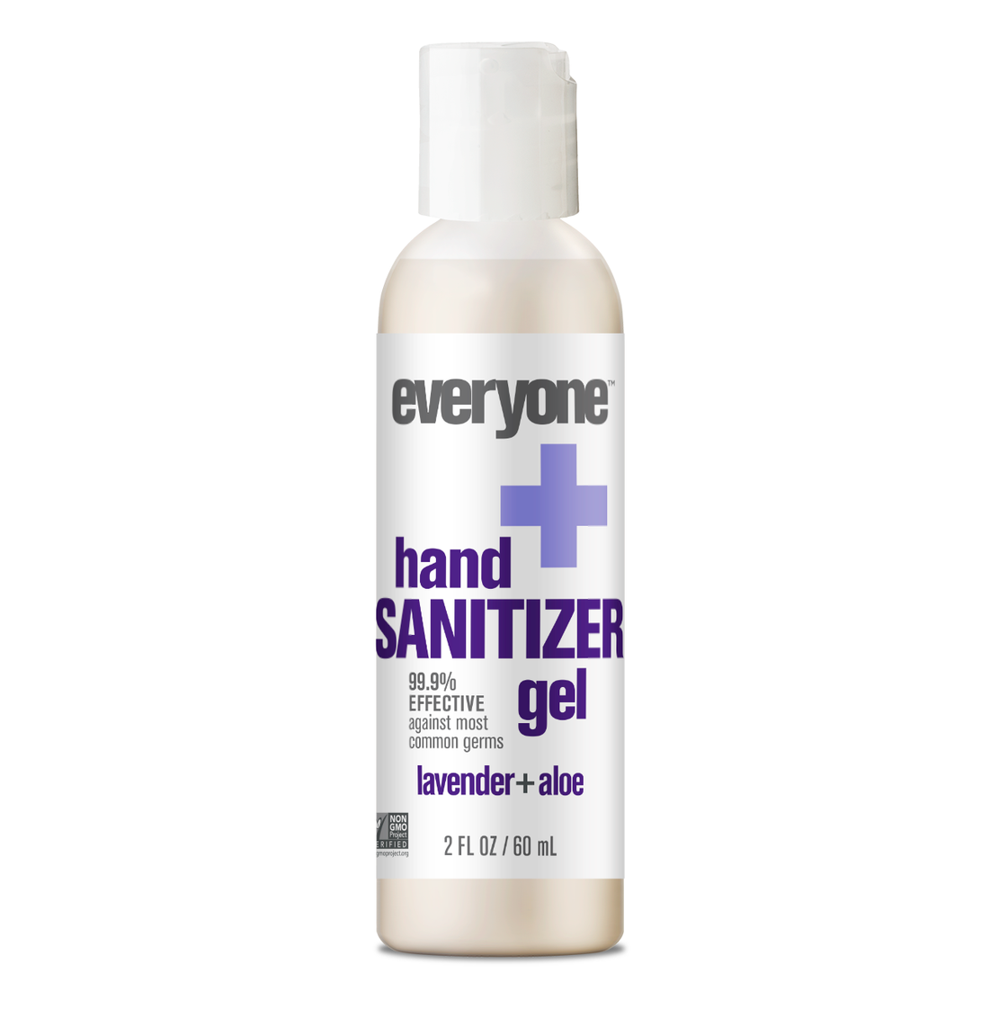 Everyone Lavender Aloe Hand Sanitizer Gel, Antibacterial, 2 Oz
