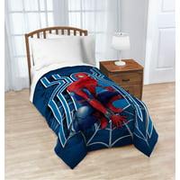 """Marvel Spiderman Kid's Bedding 62"""" x 90"""" Plush Blanket, 1 Each"""