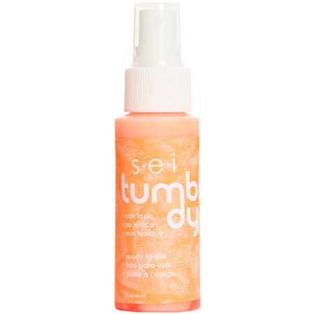 Tumble dye craft fabric spray 2oz neon orange for Sei crafts tumble dye