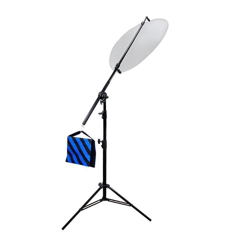 Sunset Foto Reflector Stand Arm Mount Reflector on Light Stand Photo Studio Video Lighting