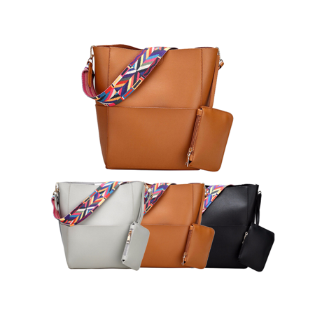 6aa20a9938b Meigar Women Ladies Leather Handbag Shoulder Crossbody Bag Purse Messenger  Tote