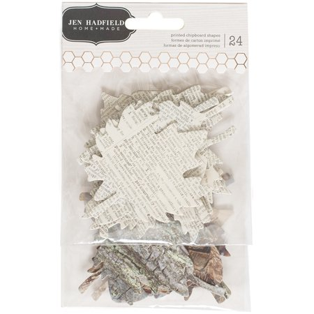 American Craft Pebbles Warm And Cozy Collection Chipboard Leaves](Crafts With Leaves)