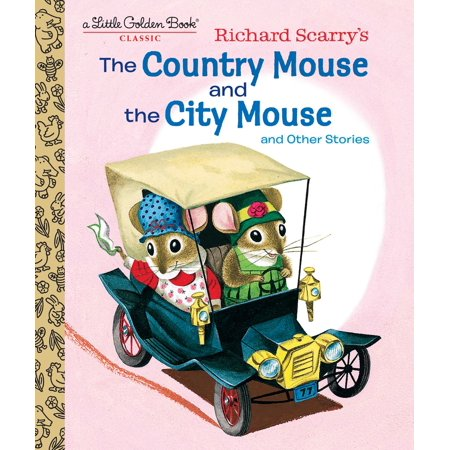 Richard Scarry's the Country Mouse and the City Mouse -