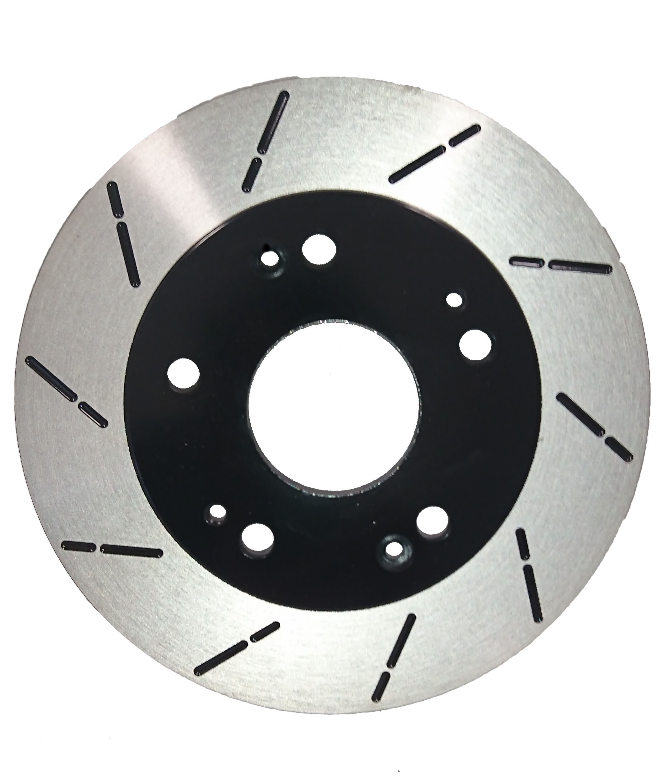 Rotors w//Ceramic Pads Elite OE Brakes Front 98 99 00 01 02 03 04 05 Civic