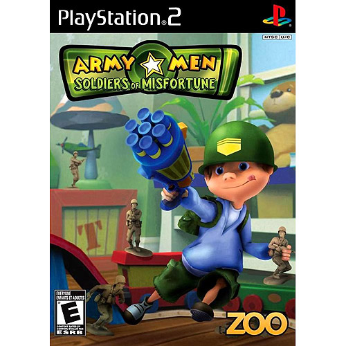 Army Men-Soldiers Of Misfortune (PS2) - Pre-Owned
