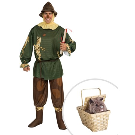 Scarecrow Costume for Adult and Deluxe Toto - Toto Costume For Adults