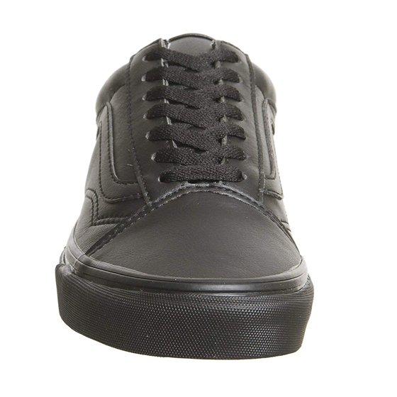 Vans VN-0A38G1PXP  Mens Old Skool Classic Black Mono Sneakers (11.5 D(M) US  Men) bc54a624c