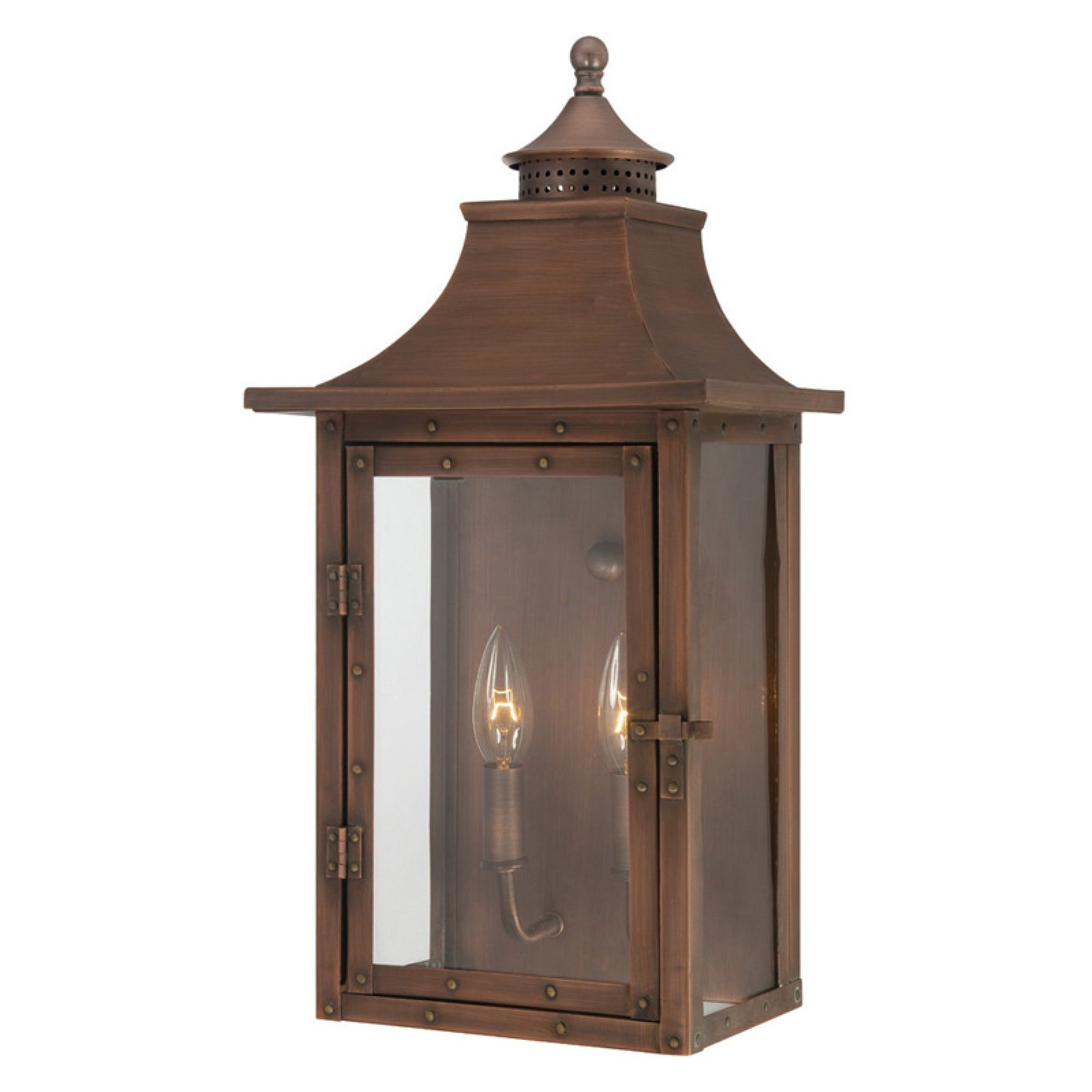 Acclaim Lighting St Charles 10 in. Outdoor Wall Mount Light Fixture