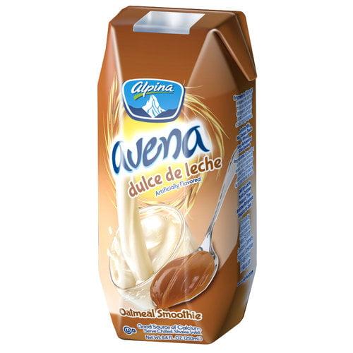 Alpina Avena Dulce De Leche Oatmeal Smoothie 8 4 Fl Oz Walmart Com Walmart Com