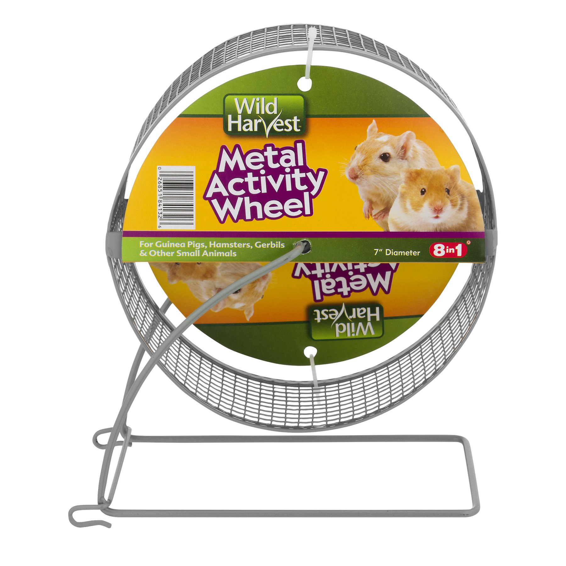 "Wild Harvest 7"" Metal Activity Wheel for Small Animals, 1 ct"