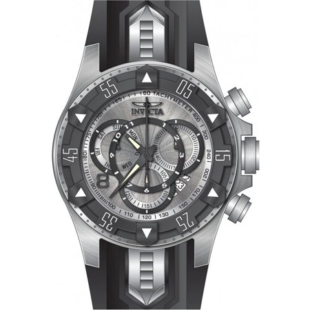 24272 Men's 'Excursion' Quartz Titanium and Silicone Casual