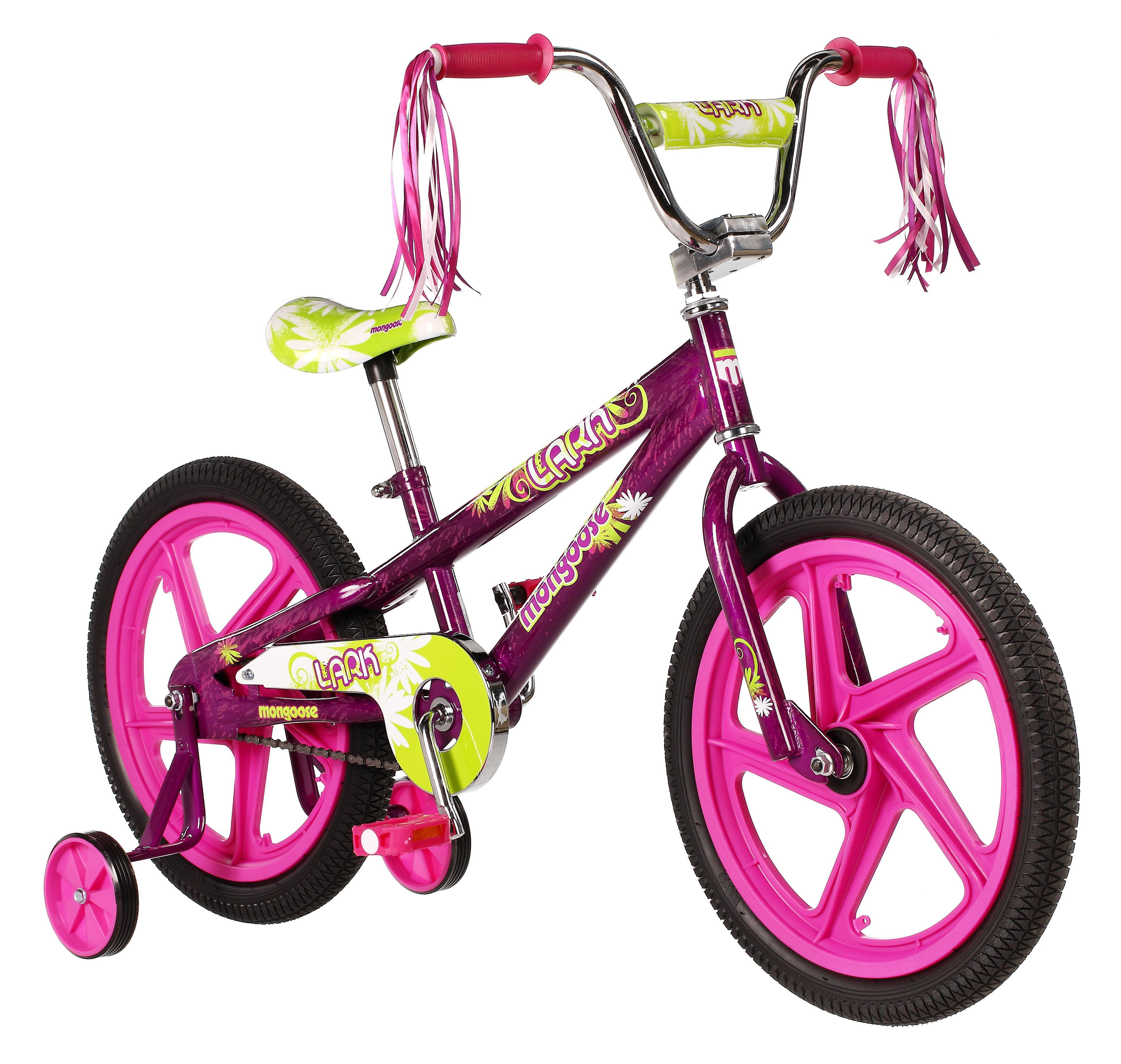"""Mongoose 19"""" Girl's Lark Bike"""
