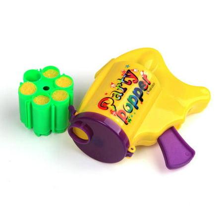 Party popper with 6 Shots, 1 Randomized Color Per Pack - image 6 de 6