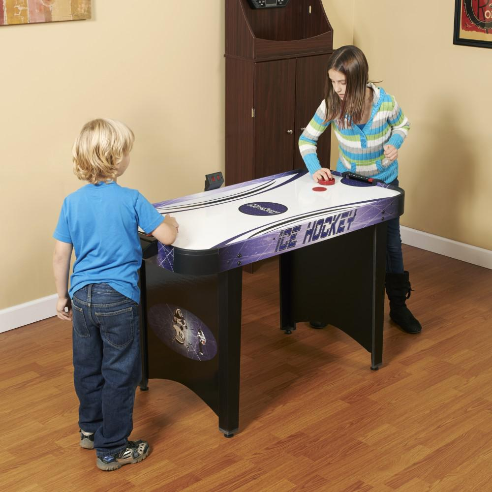 BlueWave Products AIR HOCKEY NG1015H Hat Trick 4 Ft. Air Hockey Table