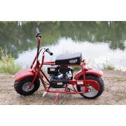 Coleman Powersports Trail 100cc Gas Powered Mini Bike - Red