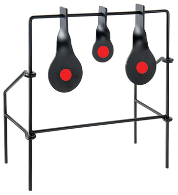 Metallic Spinner Target Medium Triple Target for Air Guns & .22 Rifle
