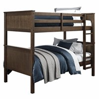 Twin Over Twin Bunk Bed White Walmart Canada