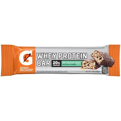 Gatorade Recover Mint Chocolate Crunch Whey Protein Bar 2
