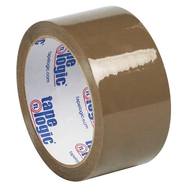 "Tape Logic #50 Natural Rubber Tape Tan 2"" x 55 yard (36 Roll/Case)"