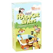 Poopy Products, New! Poopy Cat Litter Box Liners, 12 count