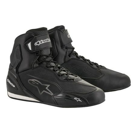 Alpinestars 2019 Faster-3 Riding Shoes - Black/Black - 10.5