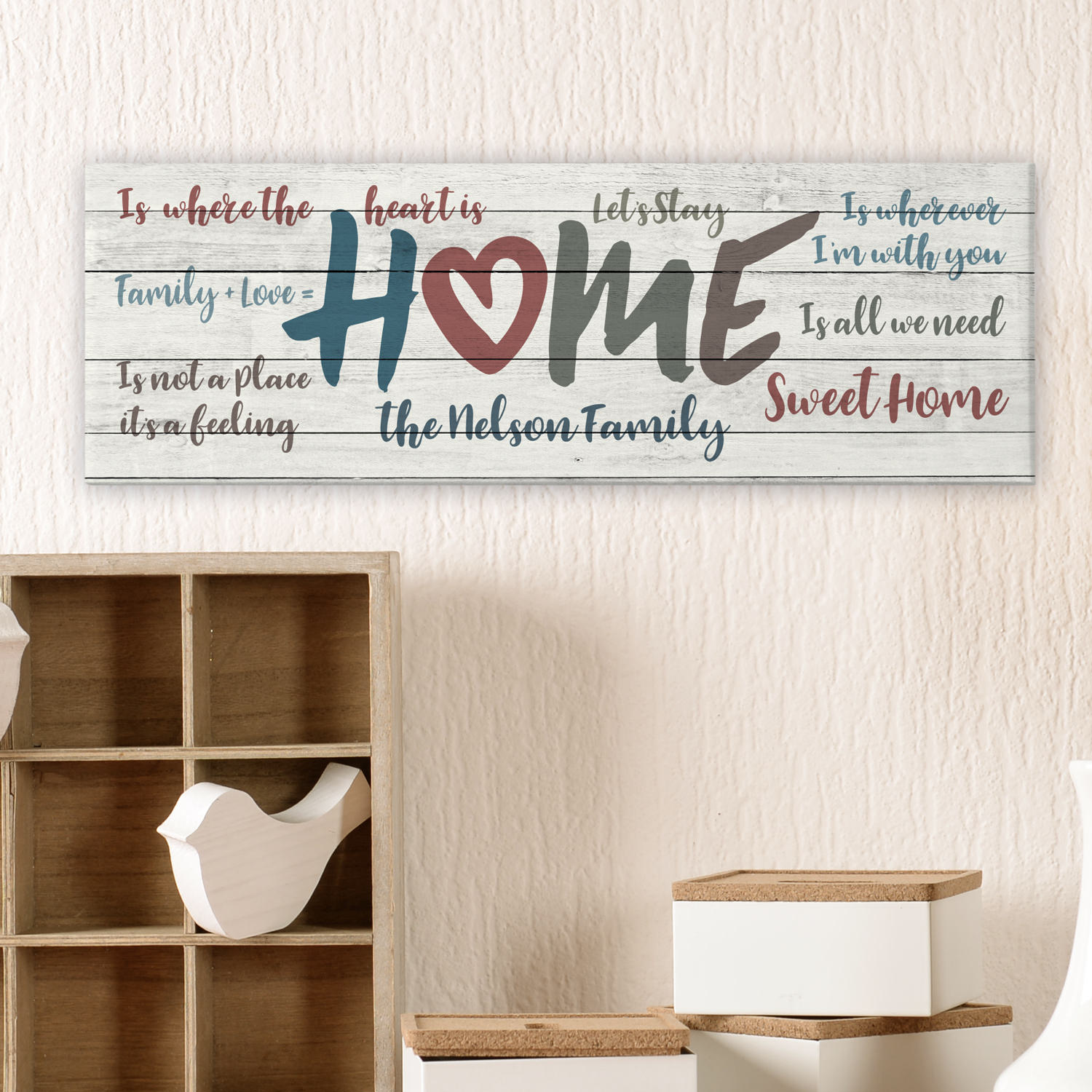 Personalized Home Is...Canvas