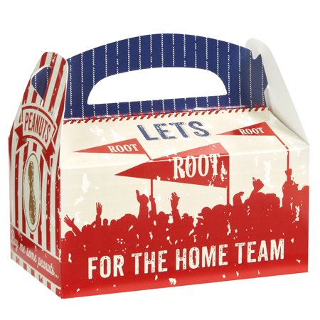 Baseball Party Supplies 12 Pack Favor Box - Baseball Themed Party