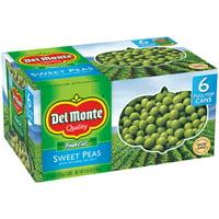 (6 Cans) Del Monte Sweet Peas 15 oz