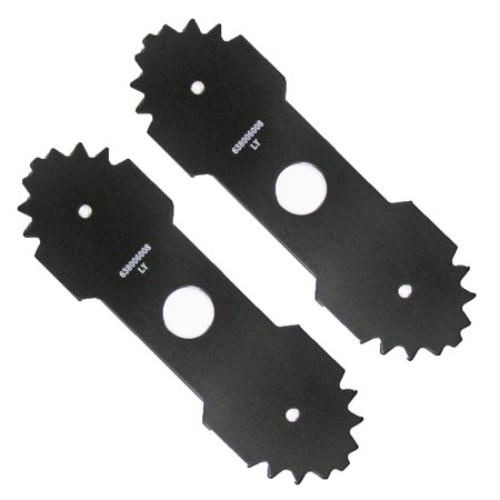 "Ryobi RY13050 Edger (2 Pack) Genuine OEM Replacement 7-3/4"" Blade # 638006008-2PK"