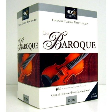 German Baroque Chamber Music - 16 CD SET Classical BAROQUE MUSIC Vivaldi / Handel / Bach