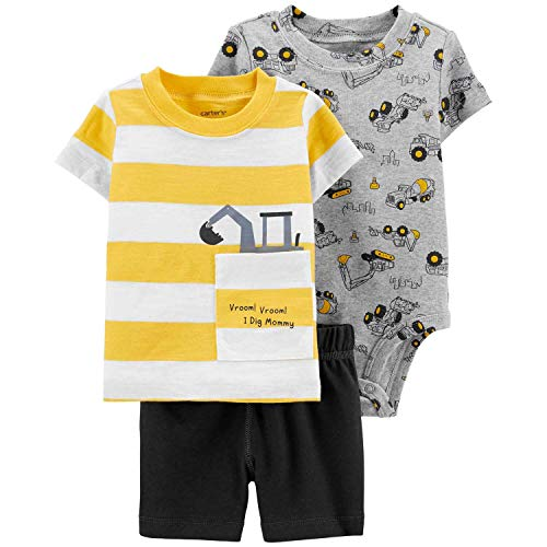 Carters Baby Boys 3-Piece Little Short Sets