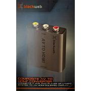 Blackweb Composite AV to HDMI Converter