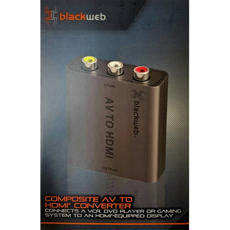 Blackweb Composite AV to HDMI Converter