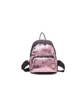 21a3449ea986 Product Image Women Girls Handbag Sequins Glitter Backpack Rucksack Travel  Shoulder School Bag