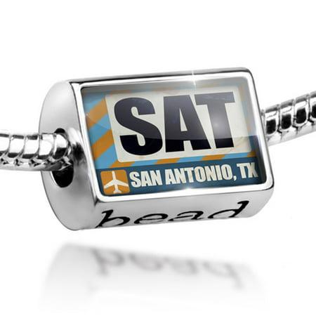 Great Clips San Antonio Tx (Bead Airportcode SAT San Antonio, TX Charm Fits All European)
