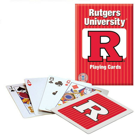 Officially Licensed NCAA Rutgers Playing Cards