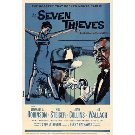 Thieves Guild Costume (Seven Thieves POSTER (27x40))