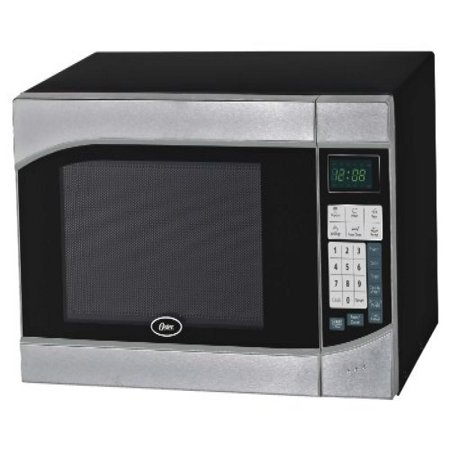 Countertop Oven Wattage : ... Feet 900-Watt Countertop Digital Microwave Oven, Stainless Steel/Black