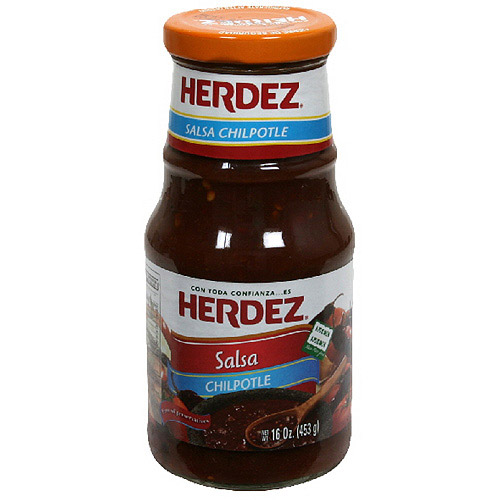 Herdez Chilpotle Salsa, 16 oz (Pack of 12)