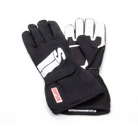 SIMPSON SAFETY XX-Large Black Double Layer Impulse Driving Gloves P/N IMZK